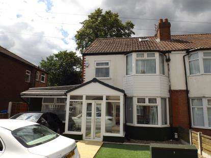 5 Bedrooms Semi Detached House for sale in Hilbre Road, Manchester, Greater Manchester, Uk