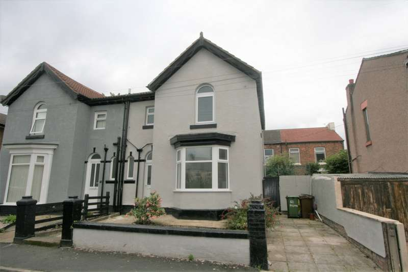 3 Bedrooms Semi Detached House for sale in Milton Road, Tranmere, CH42