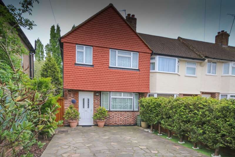 3 Bedrooms End Of Terrace House for sale in Caverleigh Way, Worcester Park, Surrey, KT4