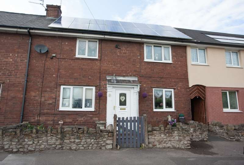 3 Bedrooms Terraced House for sale in Brookway, Featherstone, West Yorkshire, WF7