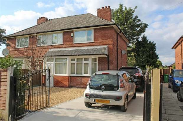 3 Bedrooms Semi Detached House for sale in Newhey Avenue, Manchester