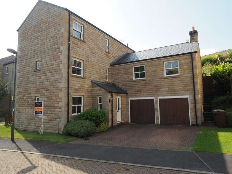 4 Bedrooms Detached House for sale in Pike Close, Hayfield, High Peak, Derbyshire, SK22 2HH