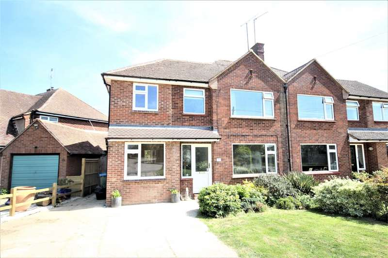 4 Bedrooms Semi Detached House for sale in Parsons Lane, Bierton