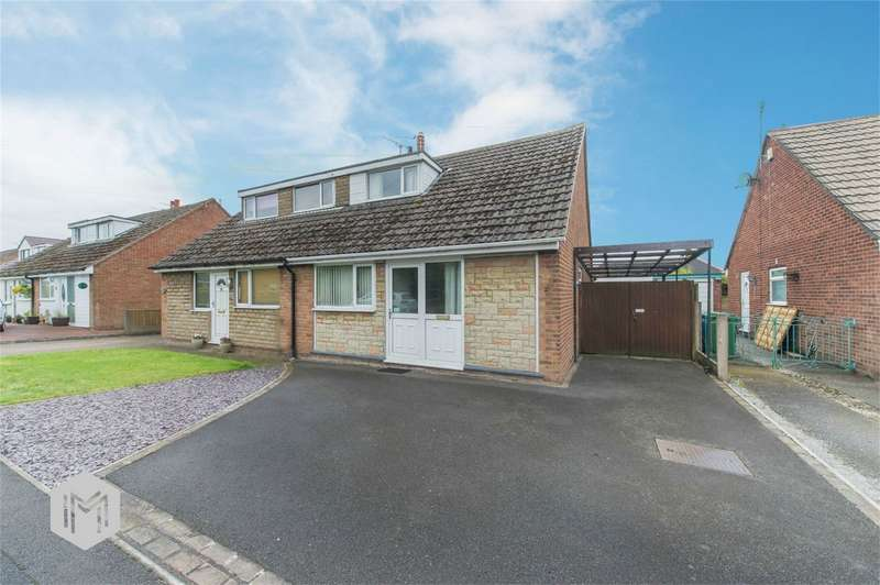 2 Bedrooms Semi Detached Bungalow for sale in 17 Browmere Drive, Croft, WARRINGTON, Cheshire, ..