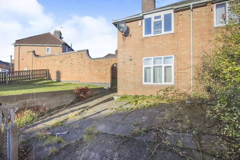3 Bedrooms Semi Detached House for sale in Stephenson Drive, Leicester, LE3