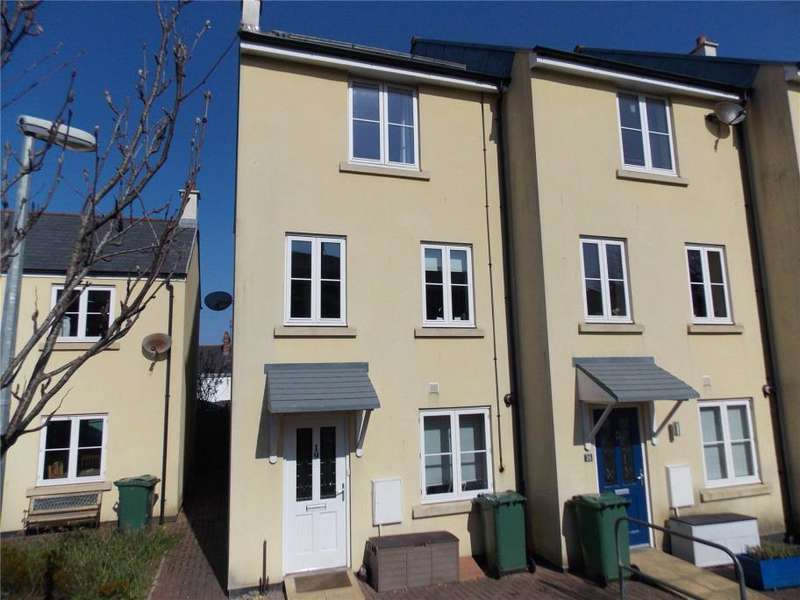 4 Bedrooms End Of Terrace House for sale in Madison Close, Hayle, Cornwall