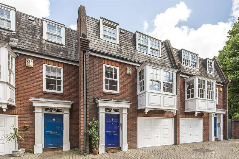 5 Bedrooms Terraced House for sale in Goldcrest Mews, Montpelier Road, Ealing, W5