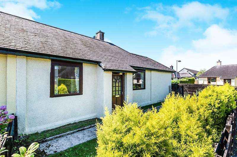 2 Bedrooms Semi Detached Bungalow for sale in Inglis Road, Invergordon, IV18