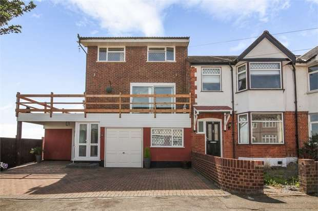 5 Bedrooms End Of Terrace House for sale in Sylvan Avenue, Romford, Essex