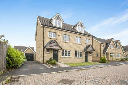 3 Bedrooms Semi Detached House for sale in Garside Drive, Halifax, West Yorkshire
