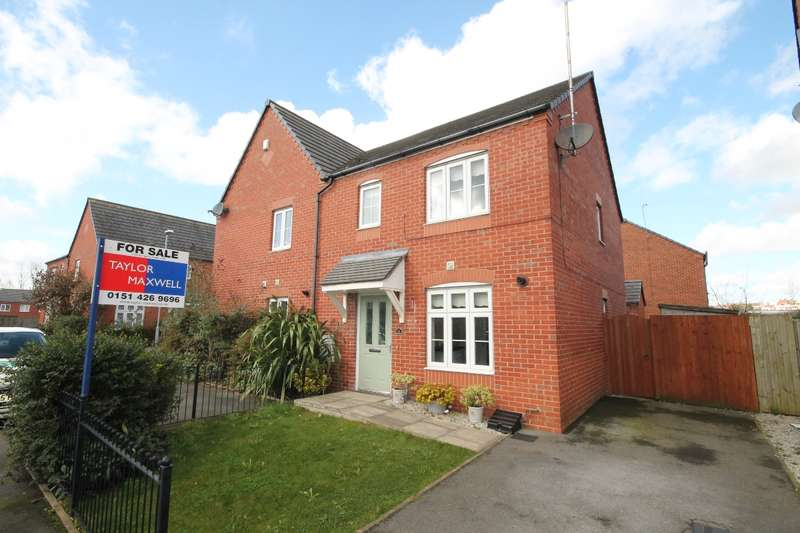 3 Bedrooms Semi Detached House for sale in Speakman Way, Prescot L34