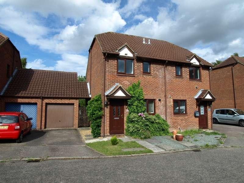 2 Bedrooms Semi Detached House for sale in Carteret Close, Willen, Milton Keynes