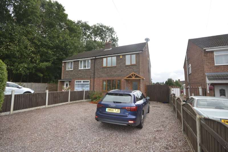 3 Bedrooms Semi Detached House for sale in Holehouse Road, Bucknall, Stoke-On-Trent, ST2