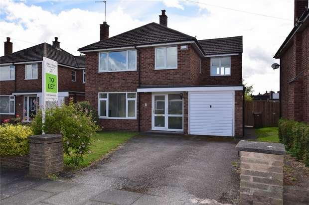 4 Bedrooms Detached House for rent in Angus Road, Bromborough, Merseyside