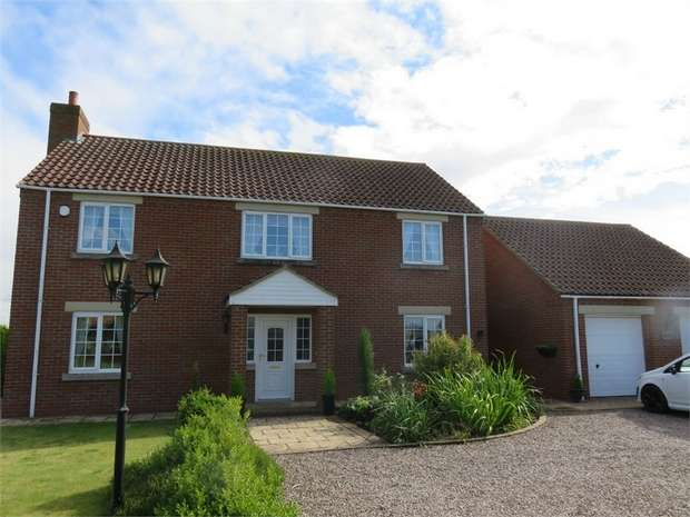 4 Bedrooms Detached House for sale in Fenhouses Lane, Swineshead, Boston, Lincolnshire