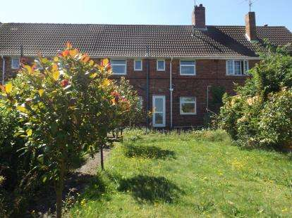 3 Bedrooms Terraced House for sale in Kirklington Road, Rainworth, Mansfield, Nottinghamshire