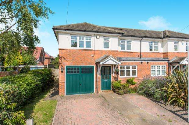 3 Bedrooms Semi Detached House for sale in Send, Woking, Surrey