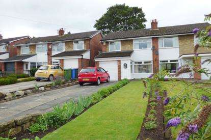 3 Bedrooms Semi Detached House for sale in Dairy Farm Close, Lymm, Cheshire