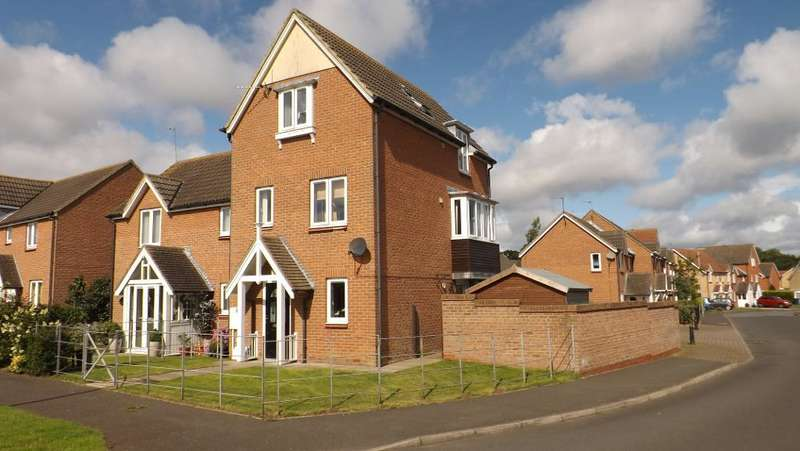 3 Bedrooms Semi Detached House for sale in Cedar Court, Widdrington, Morpeth, Northumberland, NE61 5PR