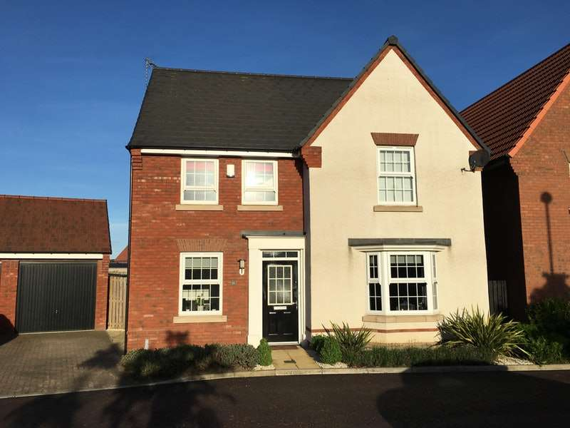 4 Bedrooms Detached House for sale in Bretton Close, Washington, Tyne and Wear, NE38