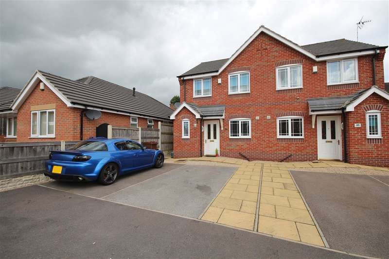 3 Bedrooms Semi Detached House for sale in Redbridge Close, Ilkeston
