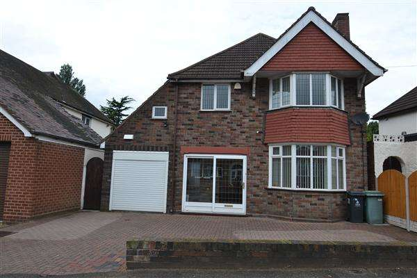 4 Bedrooms Detached House for sale in Bescot Drive, Walsall