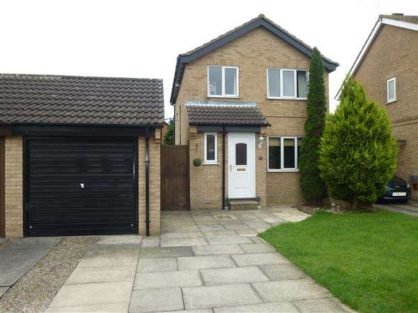 3 Bedrooms Detached House for sale in Greensborough Avenue, Beckfield Lane, York