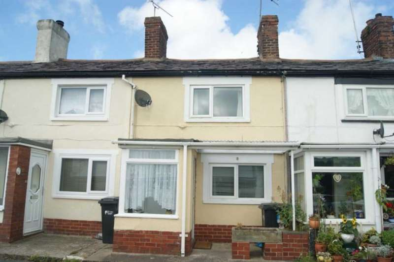 1 Bedroom Terraced House for sale in Rose Hill, Holywell, Flintshire. CH8 7TL