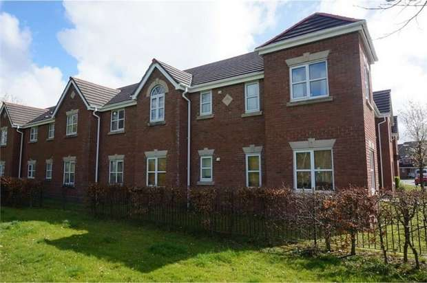 2 Bedrooms Flat for sale in Delph Drive, Burscough, Ormskirk, Lancashire
