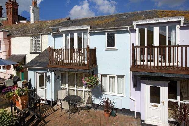 2 Bedrooms Terraced House for sale in Riverside, Shaldon, Devon