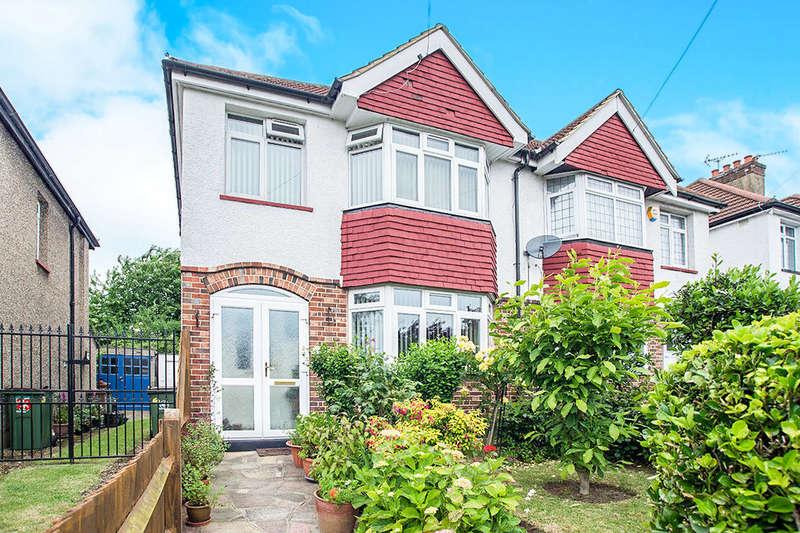 3 Bedrooms Semi Detached House for sale in Duke of Edinburgh Road, SUTTON, SM1