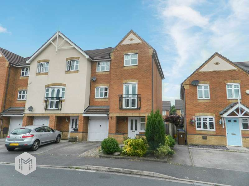 3 Bedrooms Town House for sale in Lune Road, Platt Bridge, Wigan, WN2
