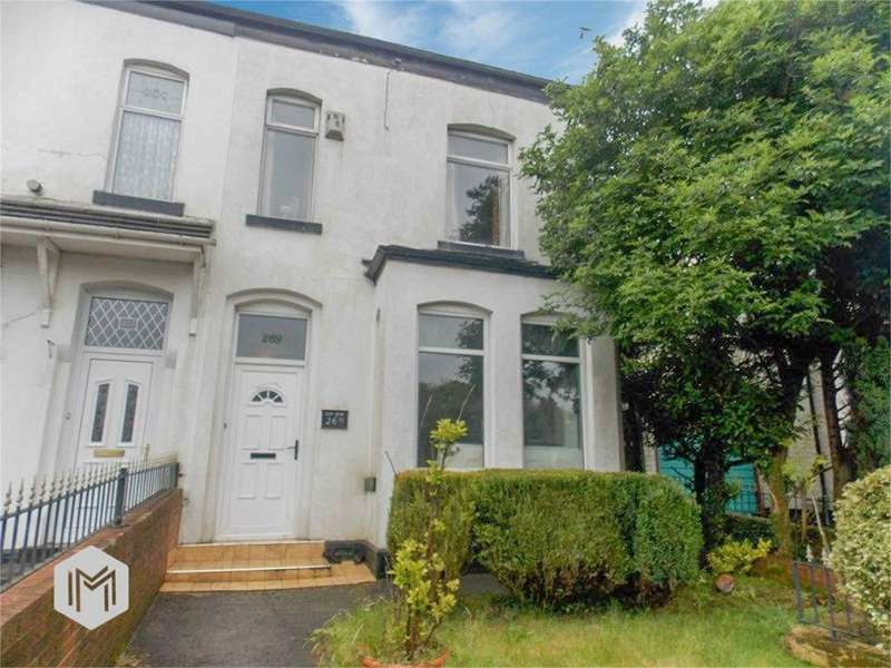 3 Bedrooms End Of Terrace House for sale in Wigan Road, Bolton, BL3