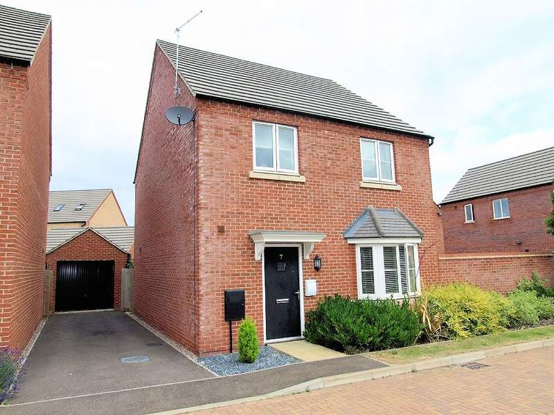4 Bedrooms Detached House for sale in Wensleydale Crescent, Oakridge Park, Milton Keynes
