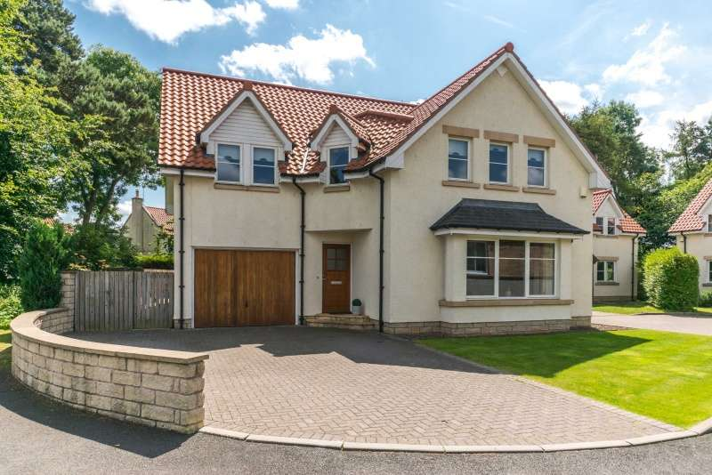 4 Bedrooms Detached House for sale in Scholars Court, Pencaitland, Tranent, East Lothian, EH34 5BY