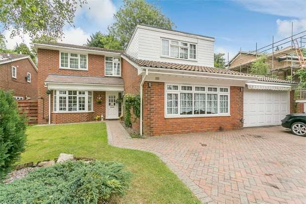 4 Bedrooms Detached House for sale in Suffield Close, South Croydon, Surrey