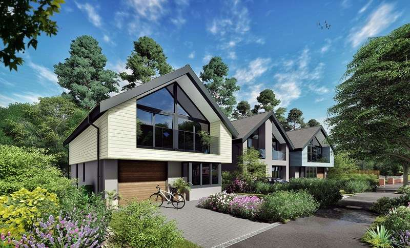 4 Bedrooms Detached House for sale in East Cliff Way, Friars Cliff, Christchurch