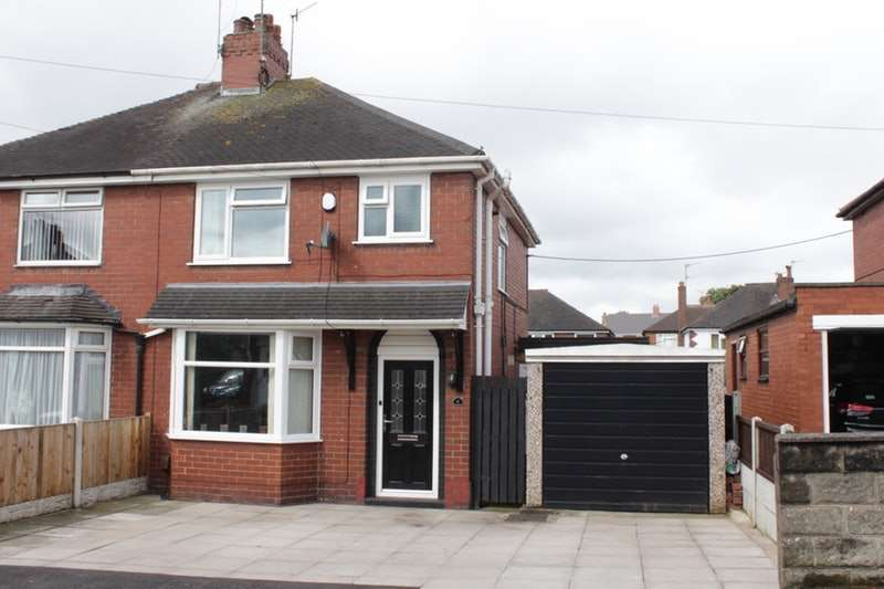 3 Bedrooms Semi Detached House for sale in Laburnum Grove blurton, Stoke-on-trent, Staffordshire, ST3