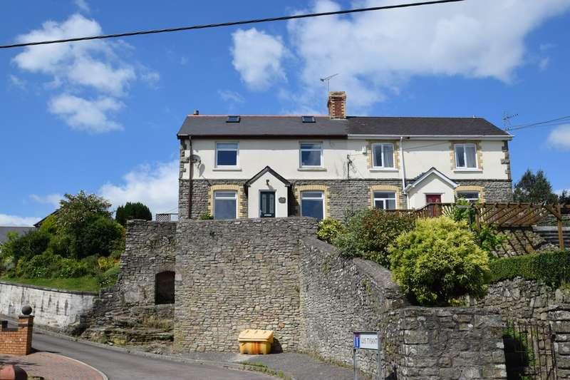 4 Bedrooms Semi Detached House for sale in 69 Heol West Plas, Coity, Bridgend, Bridgend County Borough, CF35 6BA.