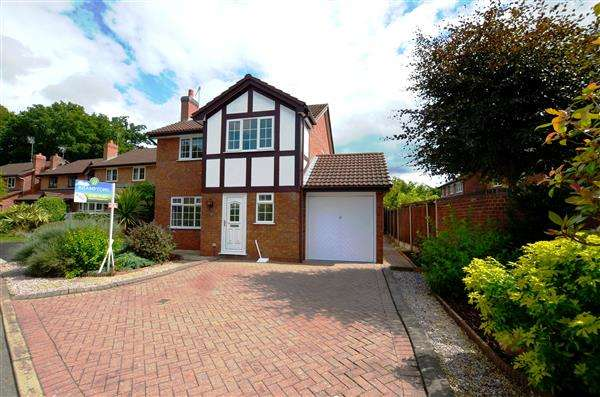 4 Bedrooms Detached House for sale in Bowmead Close, Trentham, Stoke on Trent