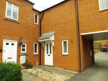 2 Bedrooms Terraced House for sale in Bloxsom Close, Bagworth, Coalville, Leicestershire