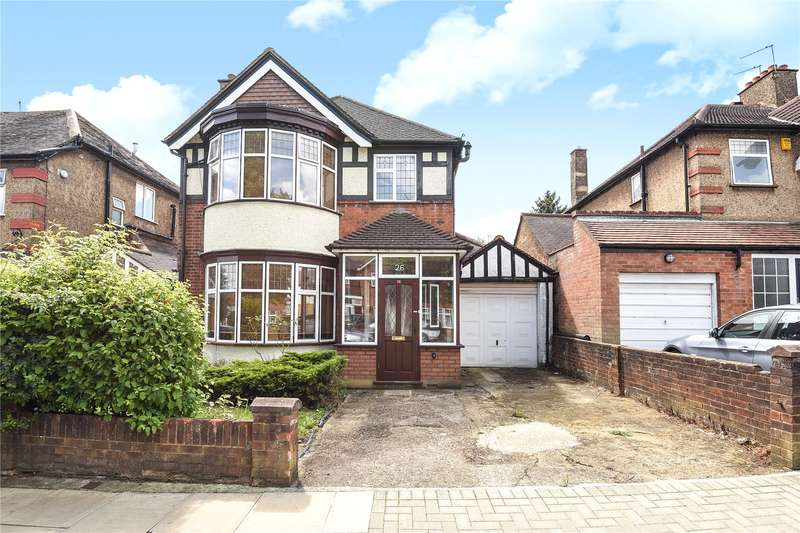 3 Bedrooms Detached House for sale in Northwick Avenue, Harrow, Middlesex, HA3