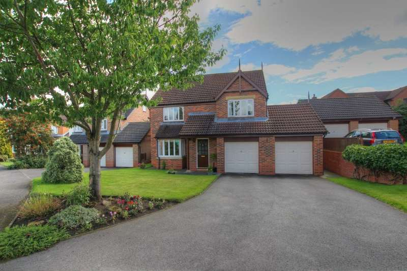 4 Bedrooms Detached House for sale in Oatlands Way, Durham, DH1