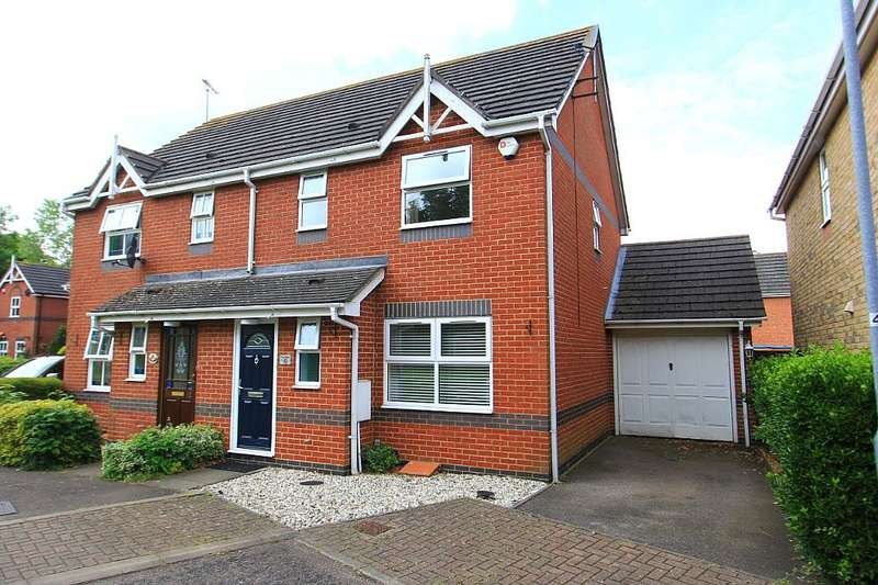 3 Bedrooms Semi Detached House for sale in Hazel Drive, South Ockendon, Essex, RM15 6JT