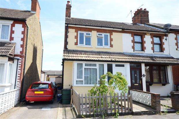3 Bedrooms End Of Terrace House for sale in Highland Road, Aldershot, Hampshire