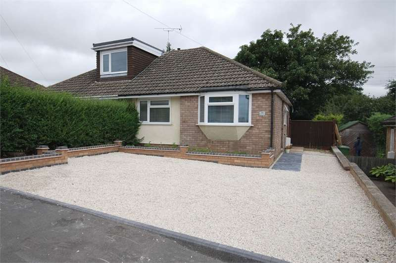 2 Bedrooms Semi Detached Bungalow for sale in Waverley Road, RUGBY, Warwickshire