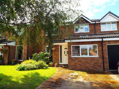 4 Bedrooms Semi Detached House for sale in Heatherfield Court, Wilmslow, Cheshire