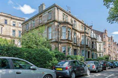 2 Bedrooms Flat for sale in Striven Gardens, North Kelvinside