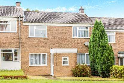 3 Bedrooms Terraced House for sale in Hipley Close, Holme Hall, Chesterfield, Derbyshire