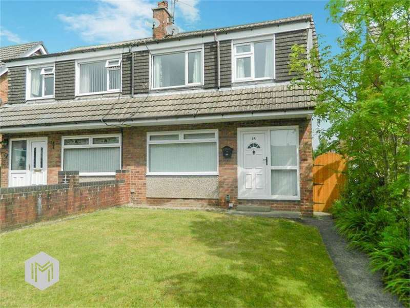 3 Bedrooms Semi Detached House for sale in Acresbrook Walk, Tottington, Bury, BL8